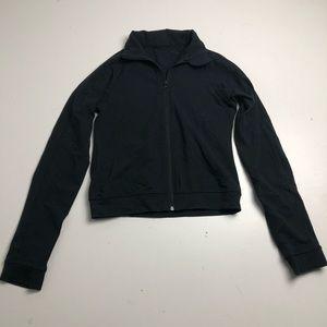 Lululemon Cropped Sweater Womens Black